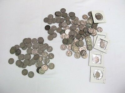 51 Buffalo Nickels Lot & 106 Jefferson Nickels Lot