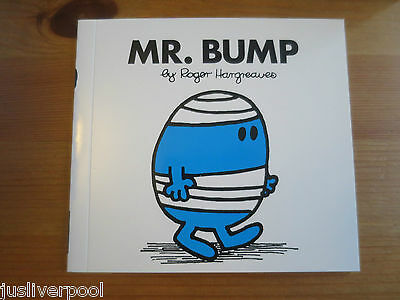 Mr Bump (Book 6)   NEW.  BUY 3 MR MEN BOOKS GET ANOTHER FREE!