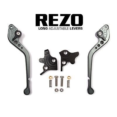 REZO Titanium Long Brake and Clutch Lever Set for Ducati 1000 SS 98-06