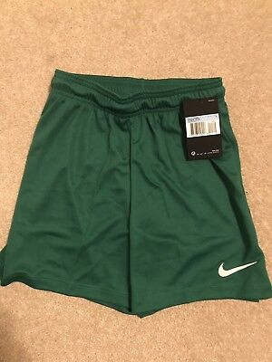 Nike Park II Medium Youth Shorts - Green