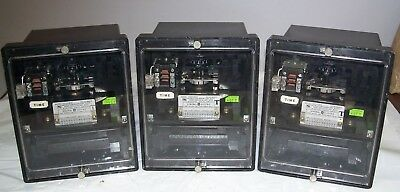 Lot of (3) GE 12IFC53A1A Very Inverse Time Overcurrent Relays,50/60 Hz,NOS (?)