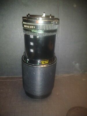 Canon FD 70-210 Zoom Lens 1:4 camera Made in Japan Macro