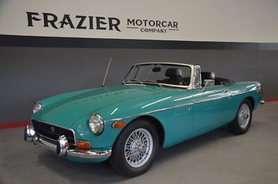 1972 MG MGB  BEAUTIFUL CHROME BUMPER MGB with OVERDRIVE and BRITISH HERITAGE CERTIFICATE