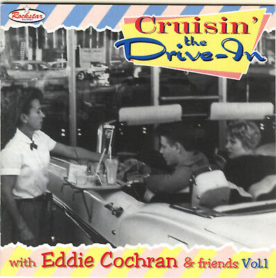 Eddie Cochran - Cruisin´the Drive In,  Rockabilly