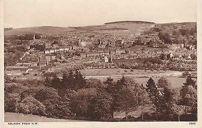 View From North West, SELKIRK, Selkirkshire
