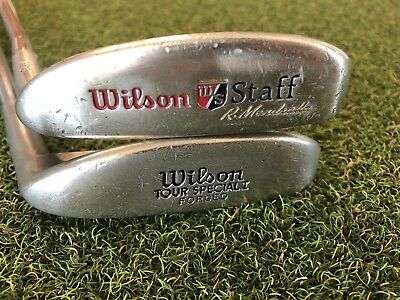 Pair of Wilson Putters 8813 R. Mendralla & Tour Special I Forged