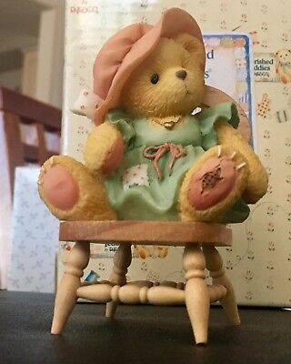 """Cherished Teddies Figurine """"A Mother's Love Bears All Things"""" 1993 #624861 🎄🎁"""