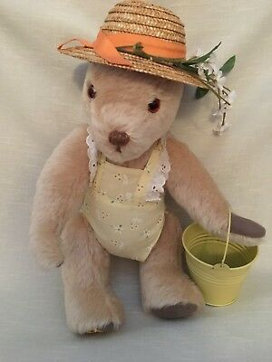 "Merrythought ""sunshine"" The Summer Bear England Signed"