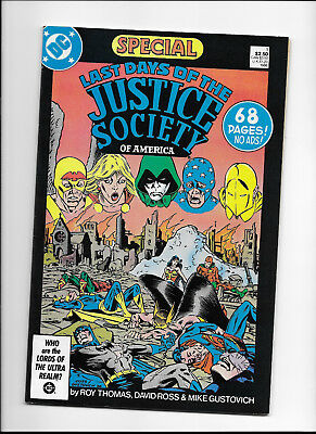 Last Days Of The Justice Society Special #1 {1986 Dc} Vf+ Hi-Grade! Copper Age!