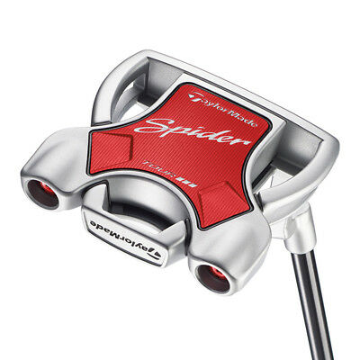 "New TaylorMade Spider Tour Diamond Silver #1 35"" Putter SuperStroke"