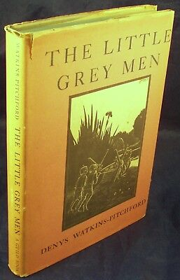 The Little Grey Men book by Denys Watkins-Pitchford 1st US ed Gnomes Illustrated
