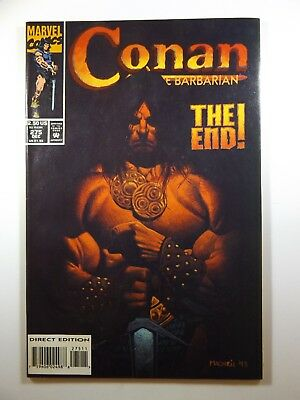 "Conan The Barbarian #275 ""The End"" Final Issue Low Print Run!! Sharp NM-!!!"