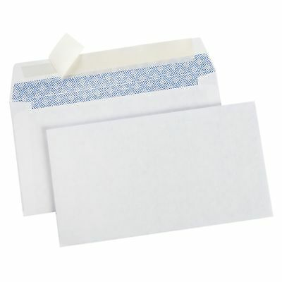 Pack of 500 Peel and Seal #6-3/4 Plain Privacy Mailing Envelopes Security Tinted
