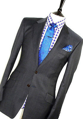 Luxury Mens Paul Smith The Byard London Navy Slim Fit Suit 38R W32 X L32