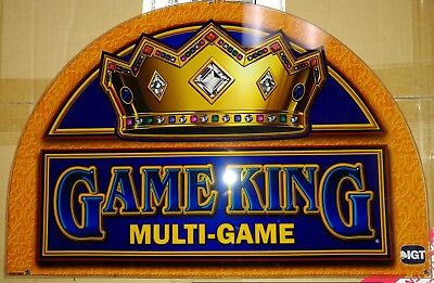 IGT Game King Multi-Game Glass Gold Top