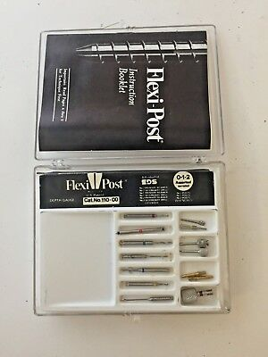 Flexi-Post Dental Bur Kit Assorted Introductory Kit (110-00) - LIQUIDATION
