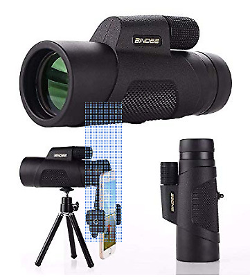 Monocular Telescope, 10X42 High-Definition Water-Proof,Fog-Proof and Shock-Proof