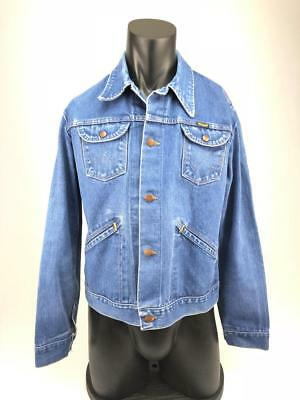 Vintage Wrangler No Fault denim jacket made in the USA XL
