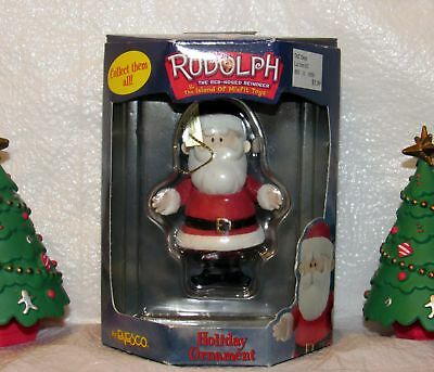 Rudolph the Red Nosed Reindeer The  Island of Misfit Toys Santa Claus Ornament