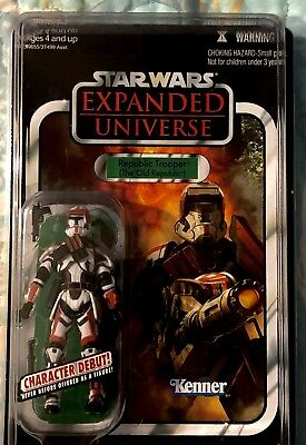 Star Wars Vintage Collection VC113 Republic Trooper (The Old Republic)UNPUNCHED