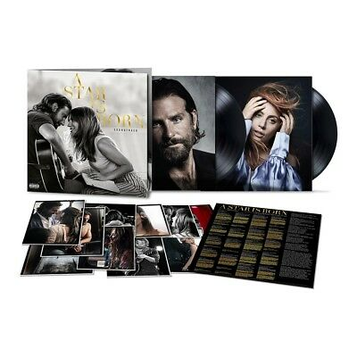 A Star is Born (Vinyl LP) • NEW • Motion Picture Soundtrack, Lady Gaga