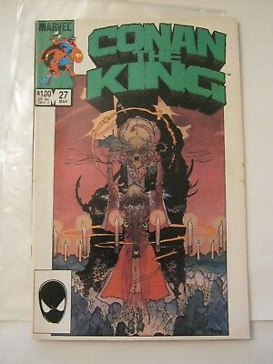 March 1985 Marvel Comics Conan The King #27 (020-3)
