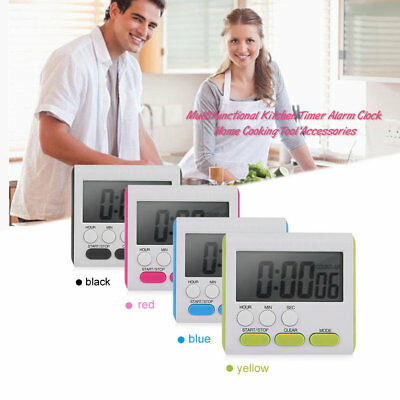 Multifunctional Kitchen Timer Alarm Clock Home Cooking Tool AccessoriR2
