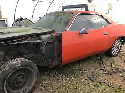1971 Plymouth Barracuda  1971 plymouth barracuda