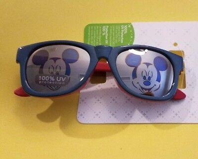 Disney Store Authentic Mickey Mouse Baby Sunglasses 100% UV Protection NEW w/tag