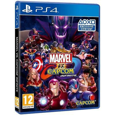 Marvel Vs Capcom: Infinite Ps4 Nuovo Sigillato Italiano Playstation 4 Capcom