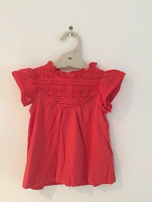 BNWT Next Direct Baby Girls Top Size 12-18mnths