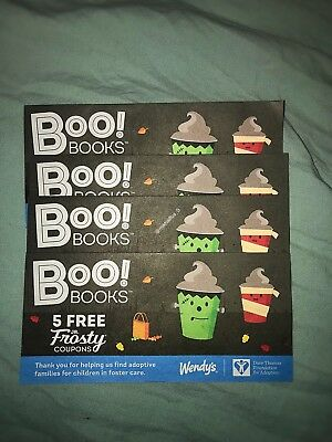 Wendys Frosty Coupon Book
