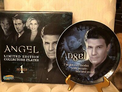 Angel /Buffy the Vampire Slayer ANGEL Collector Plate  limited edition