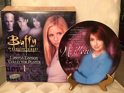 Buffy the Vampire Slayer Willow Collector Plate  limited edition