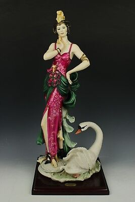 "Giuseppe Armani Figurine 158C ""Swans Lake"" LE MINT WorldWide"