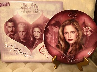Buffy the Vampire Slayer Buffy Collector Plate from Lives and Lovers Collection