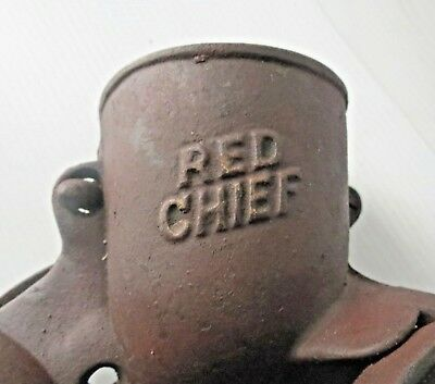 """Antique GAISSER'S """"RED CHIEF"""" Corn Sheller by BRINLY HARDY CO  1890s"""