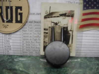 1 Nos Turret Cap For 5T-Tank Or 9B-Gunboat Big Bang Cannon Carbide Cast Iron Toy
