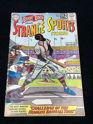 BRAVE AND THE BOLD (1955 Series) #45 Strange Sports Stories