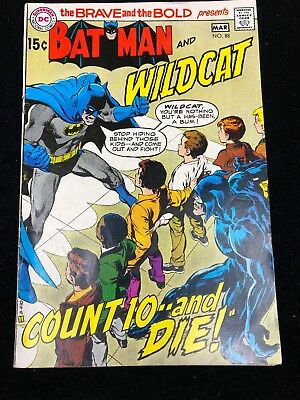 BRAVE AND THE BOLD (1955 Series) #88 | BATMAN And Wildcat