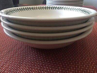 Set of 4 Portmeirion Garden Botanic Pasta Bowls 8-5/8""