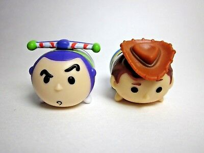 NEW Vinyl Tsum Tsums MEDIUM Disney Pixar's Buzz Lightyear & Woody! Collectible!