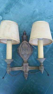 Vintage Riddle Co. Art Deco Wall Sconce