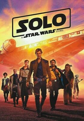 SOLO: A STAR WARS STORY (2018 DVD)***Brand NEW***Ships NOW