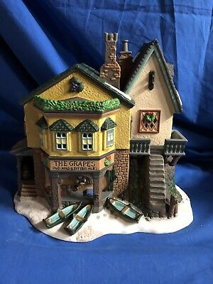 Dept 56 Dickens Village The Grapes Inn #57534 Boat Ales New In Box Limited Ed.