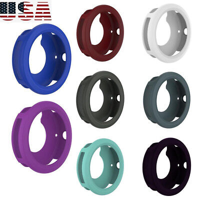 Anti-scratch Silicone Sleeve Cover Housing Case for Garmin Vivoactive 3 Watch