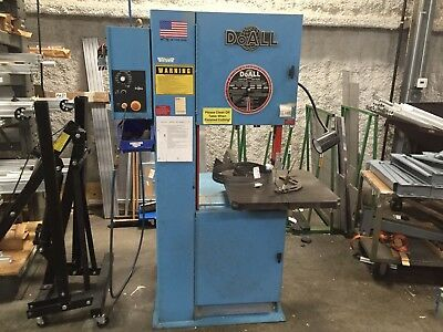 DoAll 2013-V3 Vertical Contour Band Saw Do All 500LB Capacity Industrial