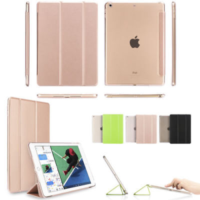 "iPad 6th Generation 2018 9.7"" Slim Magnetic Leather Smart Cover Case For Apple"