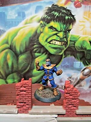 Thanos Heroscape Marvel - The Conflict Begins Figure and Card