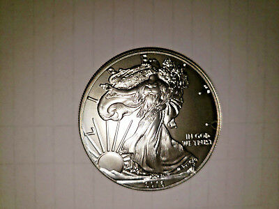 Roll of 20 - 2016 1 Oz Silver American Eagle BU  Coins in Tube FREE SHIPPING